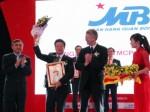 MB nhận giải thưởng Top 50 Doanh nghiệp Việt Nam xuất sắc