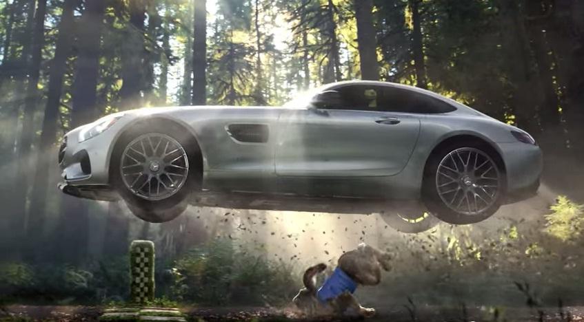 Quảng cáo ấn tượng của Mecedes-AMG GT S