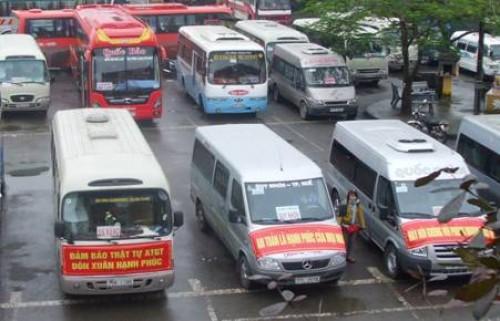 Cước vận tải giảm, xe tết vẫn tăng giá