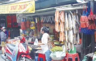 Thực phẩm Campuchia đắt hàng