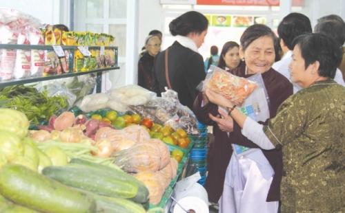 Liên kết tiêu thụ nông sản sạch
