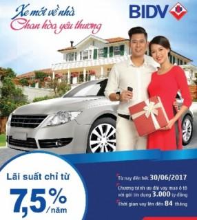 Hiện thực hóa ước mơ sở hữu xe ô tô cùng BIDV