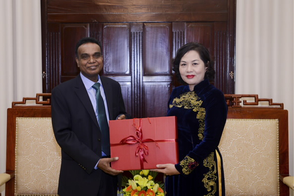 AIIB rất coi trọng hợp tác với Việt Nam