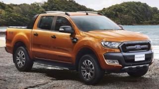 Ford Ranger giảm giá nhẹ đầu năm