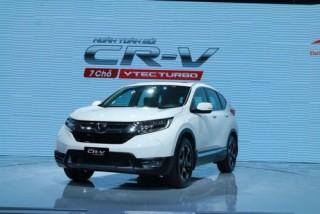 Honda CR-V 2018 có giá bán cao nhất là 1,256 tỷ đồng