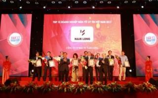 Nam Long vào Top 10 DN niêm yết uy tín