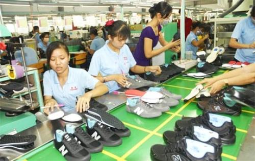Xuất khẩu da giày giữ vững tốc độ tăng trưởng