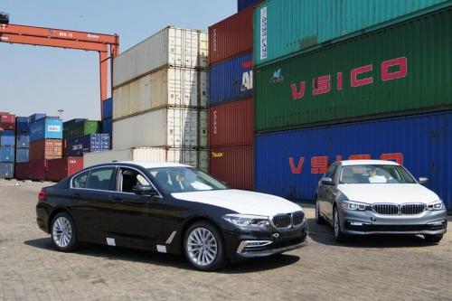 BMW 5-Series thế hệ mới giá từ 2,389 tỷ đồng cập cảng Việt Nam