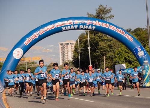 Giải Việt dã chào năm mới - BTV Number 1 thành công tốt đẹp