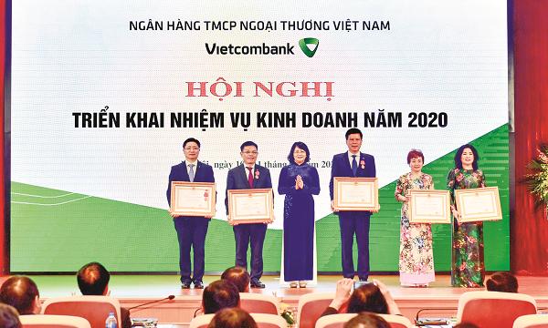Vietcombank: Vươn tầm khu vực