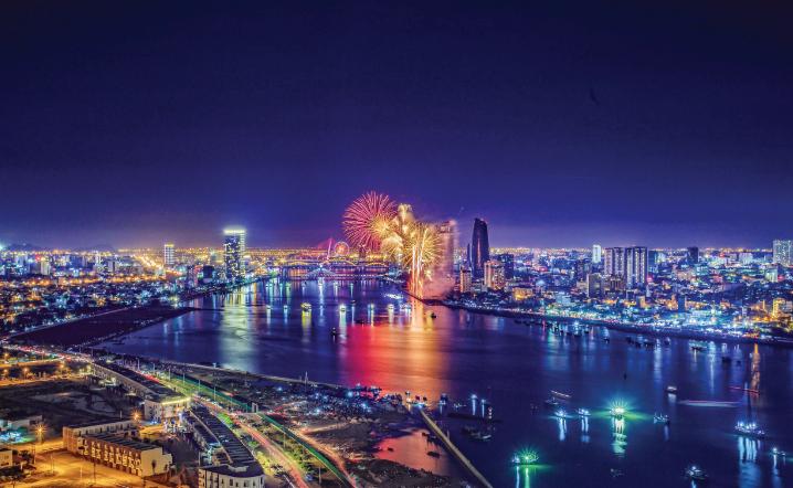 Thành phố thông minh bên bờ sông Hàn