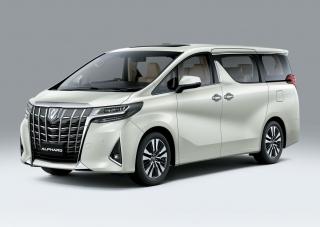 Toyota Alphard 2021 có giá từ 4,2 tỷ đồng
