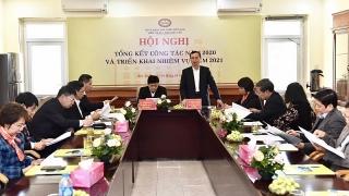 Khối thi đua Khối hậu cần NHNN tổng kết công tác năm 2020 và triển khai nhiệm vụ năm 2021
