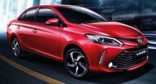Toyota Vios 2017 facelifted có giá khoảng 390 triệu đồng tại Thái Lan