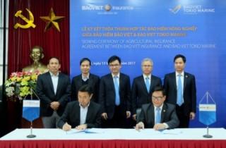 Bảo Việt hợp tác triển khai bảo hiểm nông nghiệp