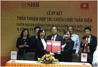 SHB ký kết hợp tác toàn diện với PCG