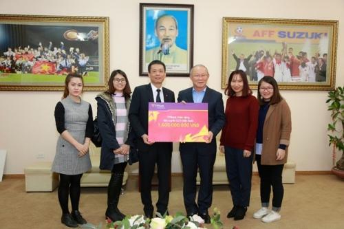 TPBank trao thưởng 1,6 tỷ đồng cho Đội tuyển U23 Việt Nam