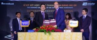 Sacombank ký kết hợp tác cùng Unionpay International