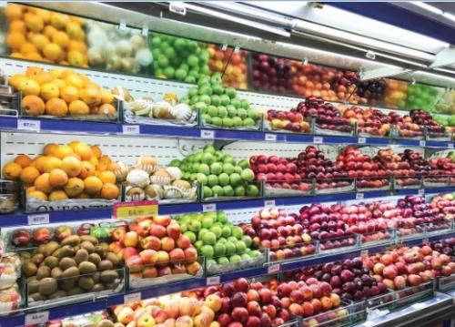 Loạn tem mác hoa quả nhập khẩu
