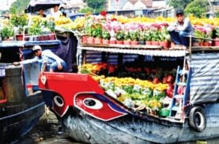 Những chợ mang nét Tết xưa