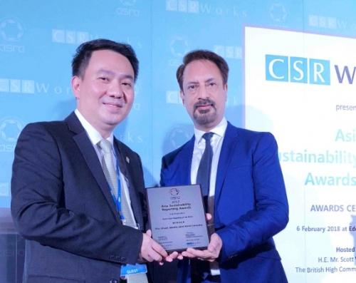 PNJ nhận giải thưởng Asia's Best Report on the SDGs