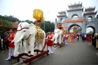Độc đáo Lễ hội đền Hai Bà Trưng Mê Linh