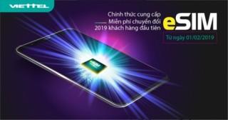 Viettel chính thức cung cấp eSIM