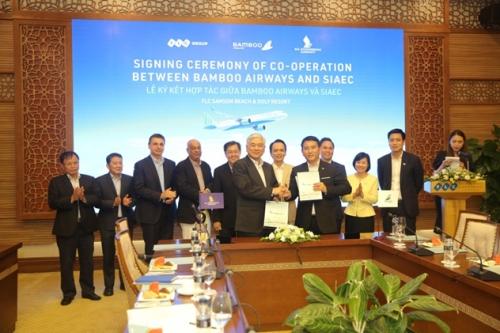 Bamboo Airways hợp tác chiến lược với công ty kỹ thuật hàng không SIAEC