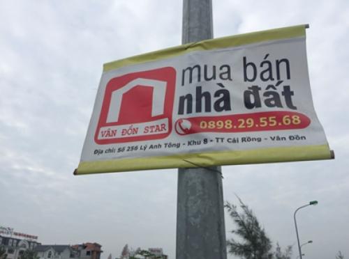 Cảnh báo tình trạng lừa đảo đặt cọc mua đất tại Vân Đồn
