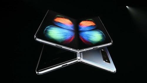 Samsung ra mắt mẫu điện thoại gập với tên gọi Galaxy Fold