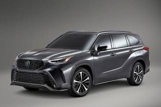 Cận cảnh Toyota Highlander XSE 2021