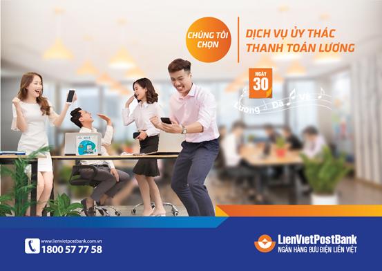 LienVietPostBank thúc đẩy thanh toán không dùng tiền mặt đối với dịch vụ công