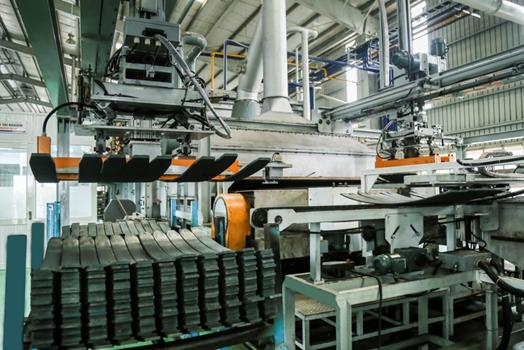 Thaco đẩy mạnh sản xuất nhíp ô tô
