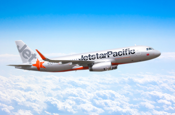 Bay Jetstar Pacific: Mua 4 vé hoàn 1
