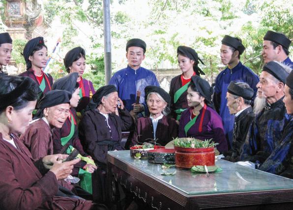 Trầu cau Quan họ: Nét văn hoá đặc sắc miền Kinh Bắc