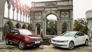 Khuyến mãi 170 triệu đồng khi mua Volkswagen Tiguan và Passat