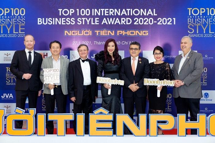 vinh danh top 100 phong cach doanh nhan 2020 2021