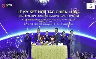 SCB ký kết hợp tác chiến lược với Kiraboshi tại Việt Nam