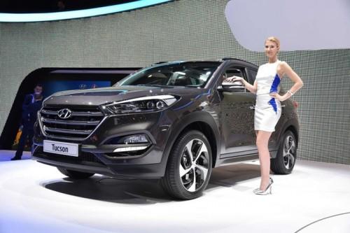 Hyundai Tucson 2016 trình diện với nhiều đột phá về công nghệ