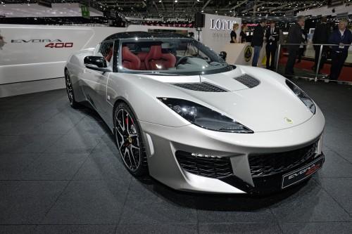 Lotus Evora 400 khoe dáng tại Geneva Motor Show 2015