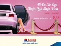 Quà tặng tháng 3 tri ân khách hàng nữ từ NCB