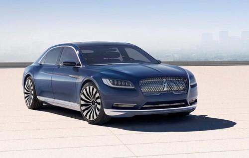 Lincoln tung Continental Concept cạnh tranh phân khúc sedan hạng sang