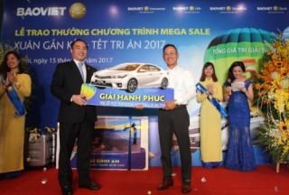 Bảo Việt trao giải Chương trình Xuân gắn kết – Tết tri ân