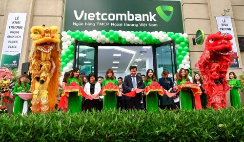 Vietcombank khai trương PGD Pacific