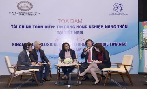 Thúc đẩy tài chính cho nông nghiệp và phát triển nông thôn tại Việt Nam