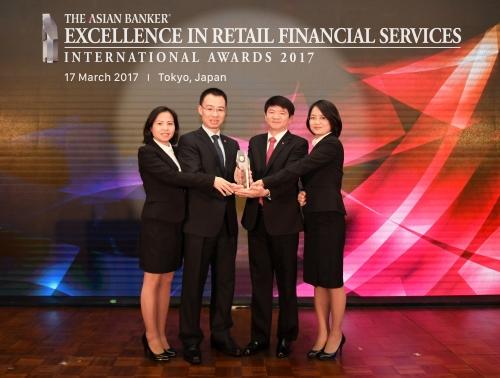BIDV tiếp tục được vinh danh là Ngân hàng bán lẻ tốt nhất Việt Nam