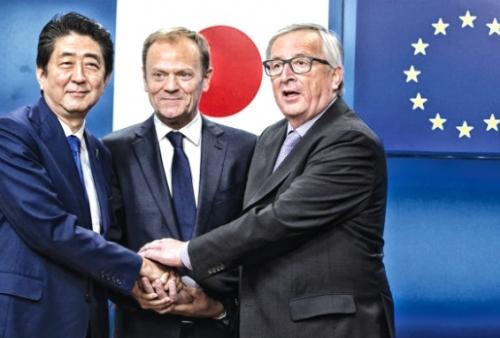 Nhật Bản – EU: Cam kết thúc đẩy thương mại tự do