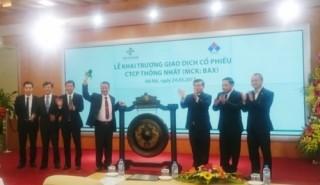 Công ty cổ phần Thống Nhất chào sàn Hà Nội
