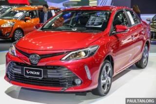 Cận cảnh Toyota Vios 2017 facelift