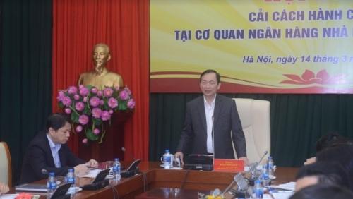 Hội nghị cải cách hành chính tại Cơ quan NHNN Trung ương